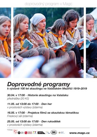 Doprovodný program k výstavě 100 LET SKAUTINGU VE VM 1919 - 2019
