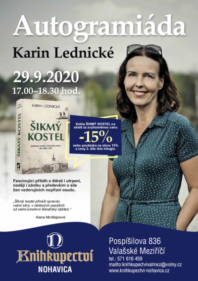 Autogramiáda Karin Lednické