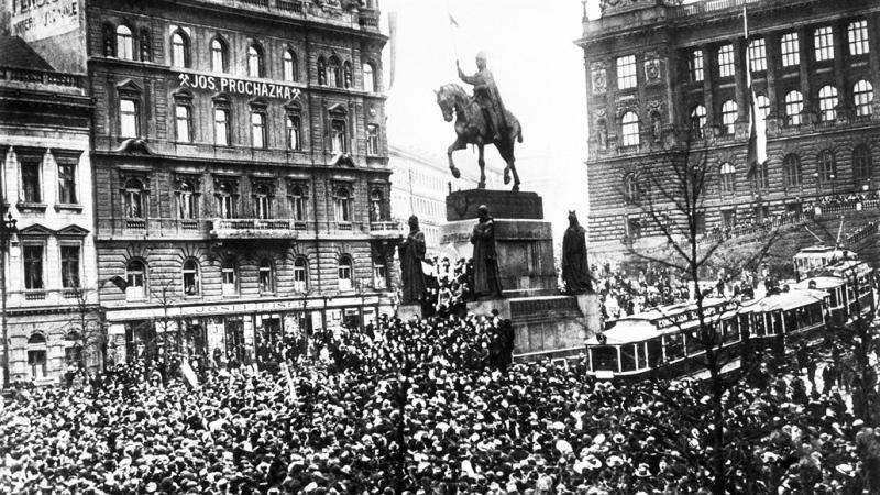 VZNIK SAMOSTATNÉHO ČESKOSLOVENSKA // ČESKOSLOVENSKÉ LEGIE 1914 - 1920