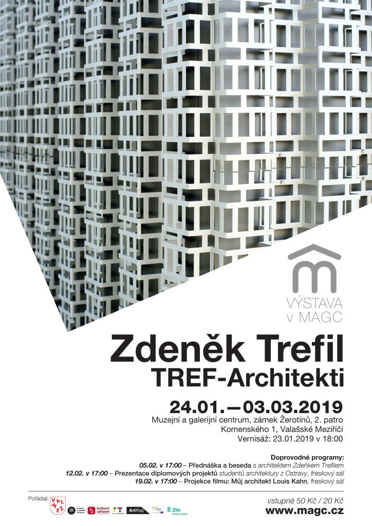 Doprovodné programy k výstavě Česká cena za architekturu 2018 / Zdeněk Trefil, TREF-Architekti