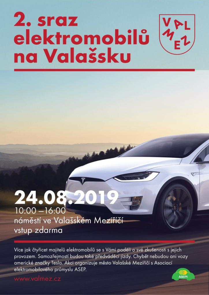 2. sraz elektromobilů na Valašsku