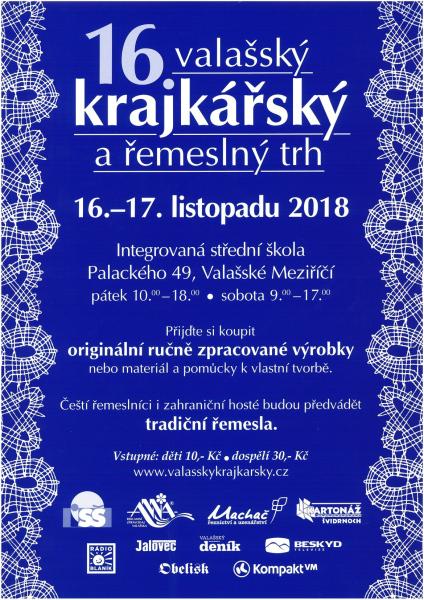 16. Valašský krajkářský a řemeslný trh