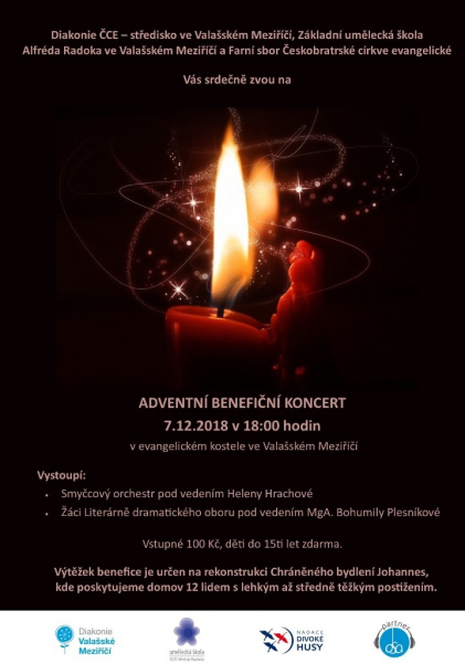 Adventní benefiční koncert