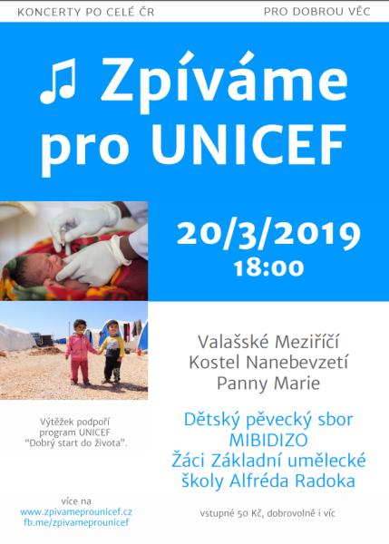 MIBIDIZO pro dobrou věc - UNICEF