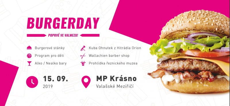 Burger day v MP Krásno