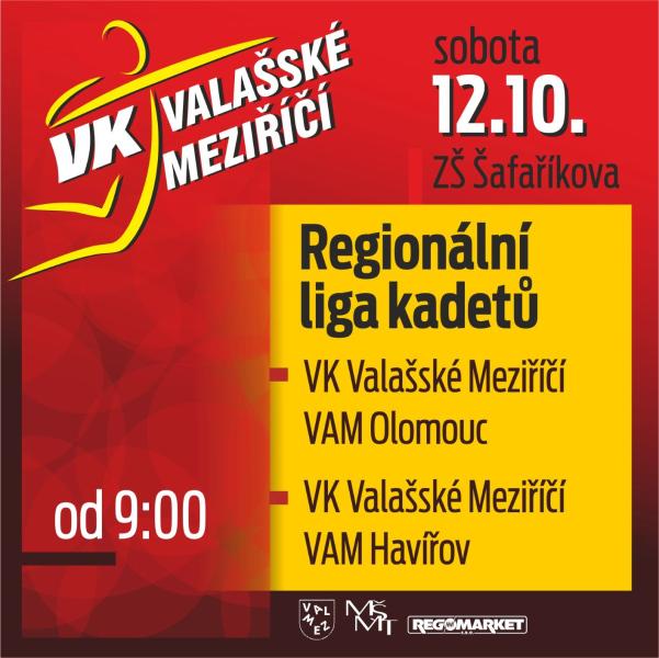 Regionální liga ve volejbale kadetů