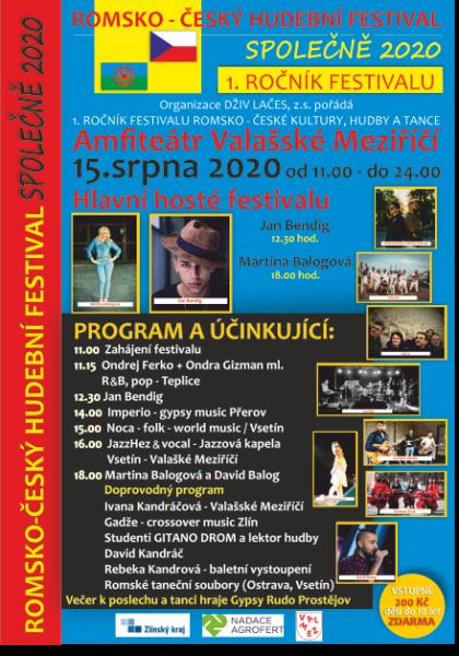 Romsko-český hudební festival SPOLEČNĚ 2020