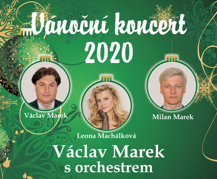 Vánoční koncert 2020 Orchestru Václava Marka - Zrušeno