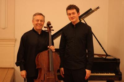 Mikael Ericsson - violoncello & MgA. Daniel Juna - klavír