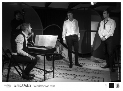 3 strážníci – verze Werichova vila