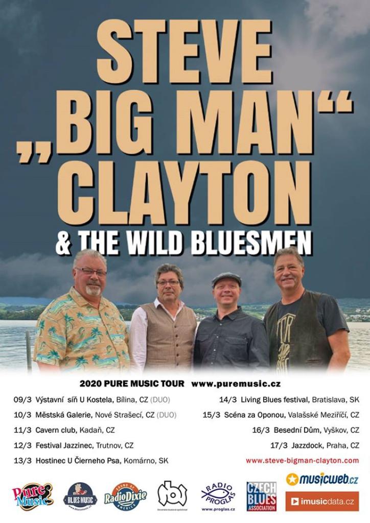 "Steve"" Big Man"" Clayton & the Wild Bluesmen (Bobrovniczký)"
