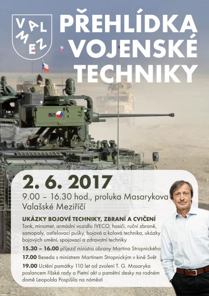 Přehlídka vojenské techniky
